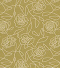 Home Decor 8\u0022x8\u0022 Fabric Swatch-Bed Of Roses Green