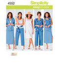 Simplicity Pattern 4552AA 10 12 14 1-Simplicity Misses