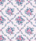 Keepsake Calico Cotton Fabric 43\u0022-Pink Diamond Ditsy Floral