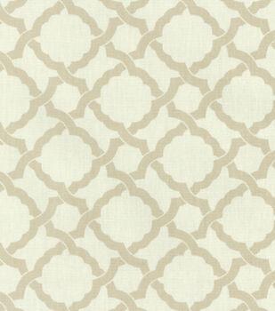 Waverly Upholstery Fabric-Kent Crossing/Linen