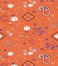 Clemson University Tigers Cotton Fabric -Bandana