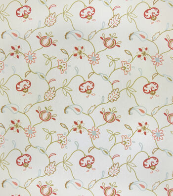 "Jaclyn Smith Lightweight Decor Fabric 54""-Alice/Blush"