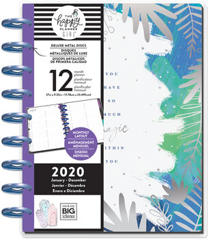 The Happy Planner Girl Deluxe Classic 2020 Planner-Stargazer Magic