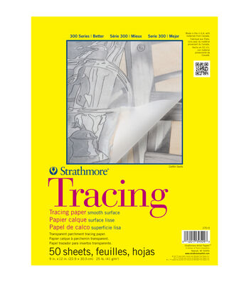 "Strathmore Tracing Paper Pad 11""X14""-25lb 50 Sheets"