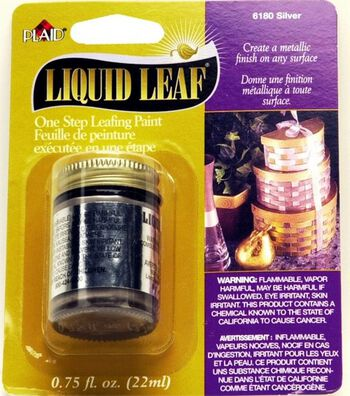 Liquid Leaf Silver