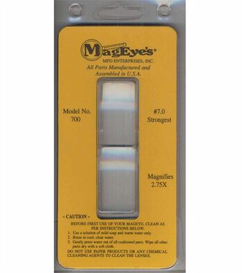 MagEyes Magnifier Supplement Lens #7.0