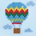 Diamond Dotz Diamond Embroidery Facet Art Kit 4.75\u0027\u0027X4.75\u0027\u0027-Up Up & Away