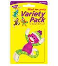 Sock Monkeys Patterns Mini Accents Variety Pack, 36 Per Pack, 6 Packs