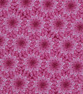 Wide Prints Fabric 108\u0022-Pink Floral