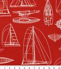 Solarium Outdoor Fabric 54\u0027\u0027-Red Helm
