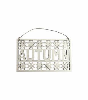 Simply Autumn Craft Laser Cut Autumn Wood Sign