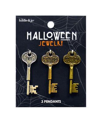 hildie & jo Halloween Pendants-Keys