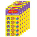Lots of Chocolate-Chocolate Stinky Stickers 12 Packs