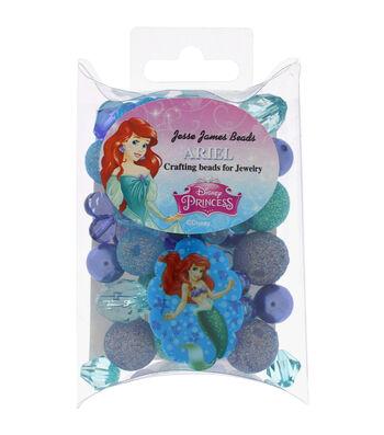 Jesse James Disney Craft Beads For Jewelry-Ariel
