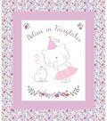 Nursery Cotton Fabric 42\u0027\u0027-Princess
