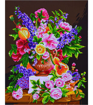 Diamond Dotz Diamond Embroidery Facet Art Kit 24''X29.5''-Bouquet Ancien
