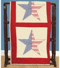 Jack Dempsey Needle Art 6 pk 18\u0027\u0027x18\u0027\u0027 Antique Quilt Block-American Star