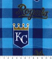 Kansas City Royals Fleece Fabric-Buffalo Plaid, , hi-res