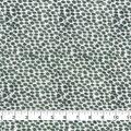 Keepsake Calico Cotton Fabric-Green Smeared Dots