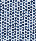 Keepsake Calico Cotton Fabric-Navy Shaded Dot