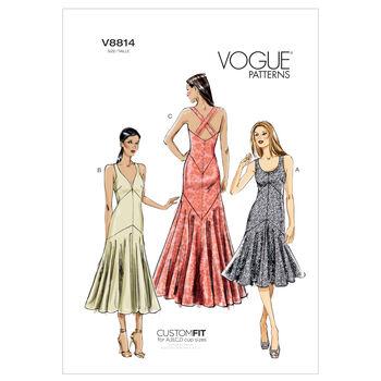 Vogue Patterns Misses Special Occasion-V8814