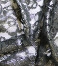 Casa Collection Stretch Lace Fabric -Black