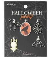 hildie & jo Halloween 5 Pack Spooky Animal Charms, , hi-res