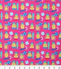 Novelty Cotton Fabric-Beachin\u0027 Pineapples