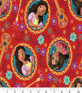 Disney Elena of Avalor Cotton Fabric -Elena & Isabel