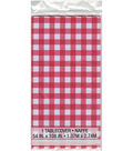 Unique Industries Gingham Printed Tablecover 54\u0027\u0027x108\u0027\u0027