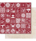 Ruby Rock-It Oriental Chic Miscellanea With Red Foil Cardstock