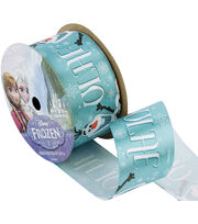 "Frozen Ribbon 1-1/2""x9'-Olaf Name, , hi-res"