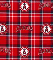 "Los Angeles Angels Flannel Fabric 42""-Plaid, , hi-res"