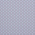 Christmas Cotton Fabric-White Holiday Dot Green Red Glitter