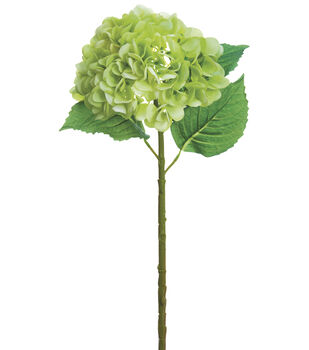 Bloom Room 19'' Real Touch Hydrangea Stem-Green
