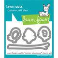 Lawn Fawn Lawn Cuts Custom Craft Die -Winter Sparrows