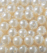Darice Big Value! 10 mm White Pearl 210pk, , hi-res