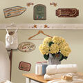 York Wallcoverings Wall Decals-Country Signs