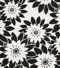 Home Decor 8\u0022x8\u0022 Fabric Swatch-HGTV HOME Pop Art Onyx