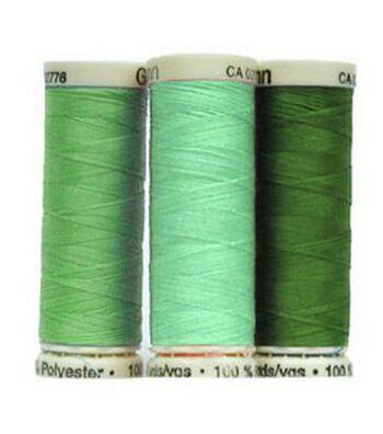 Gutermann Sew All Polyester Thread 110 Yards-Greens