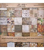 """Idea-Ology Paper Stash Paper Pad 8""""X8"""" 36/Pkg-Collage, , hi-res"""