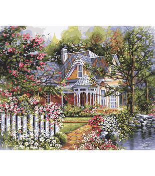 Plaid Paint By Number Kit 16 X20 Victorian Garden