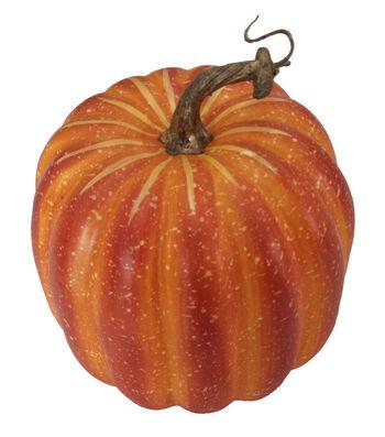 Blooming Autumn Tall Natural Pumpkin-Orange