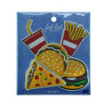 Fab Lab Wearables 5 pk Assorted Fast Food Iron-on Appliques