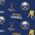 Buffalo Sabres Fleece Fabric -Tossed