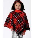 Butterick Pattern B6373 Children\u0027s/Girls\u0027 Capes & Poncho-Size 6-7-8