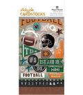 Paper House Sticky Pix Pack of 170 Cardstock Stickers-Football