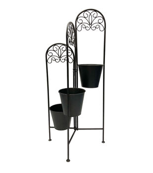 In the Garden 3-tier Metal Plant Stand