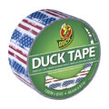 Printed Duck Tape Br& Duct Tape 1.88 in. x 10 yd.-Americana