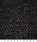 Velvet Flocked Sequin Fabric 55\u0022-Black